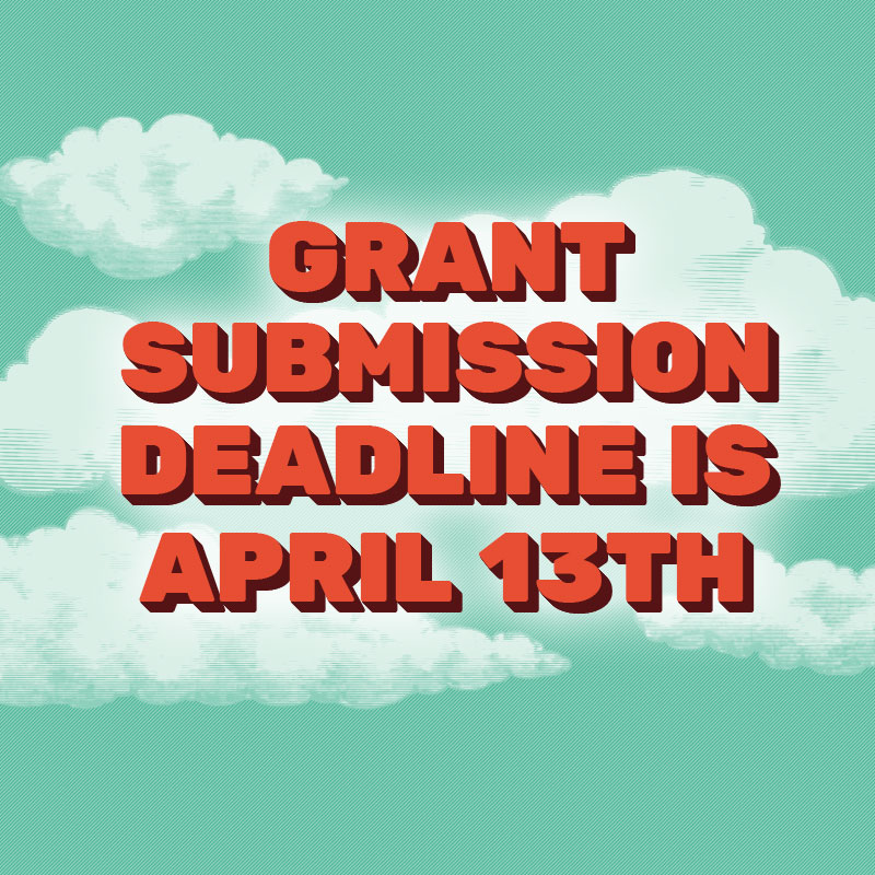 2015 Foo Foo Fest art grant submissions are due April 13th