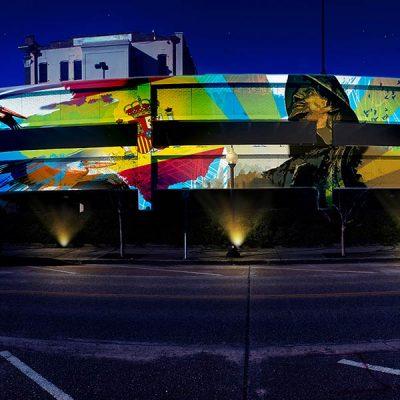 Friends of Downtown Pensacola: Jefferson Street Garage Art Live Event
