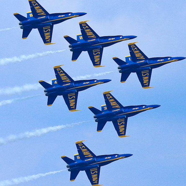 Blue Angels Air Show, day 1