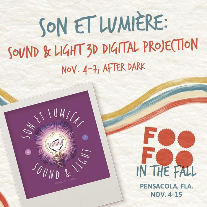 Blog entry detailing the SON ET LUMIÈRE: SOUND & LIGHT 3D DIGITAL PROJECTION