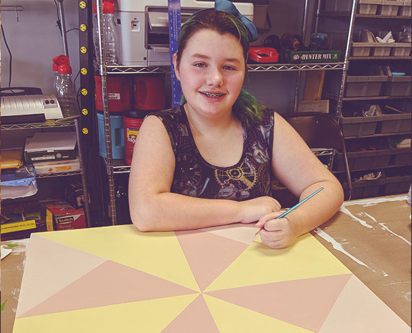 DIY Paint parties with the Gulf Coast quilt trail