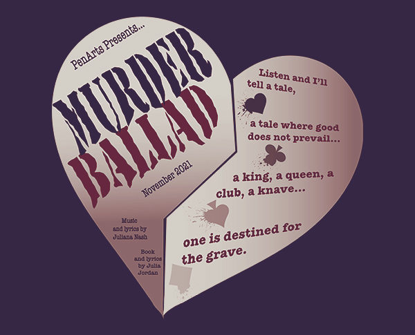 Murder Ballad production presented by PenArts