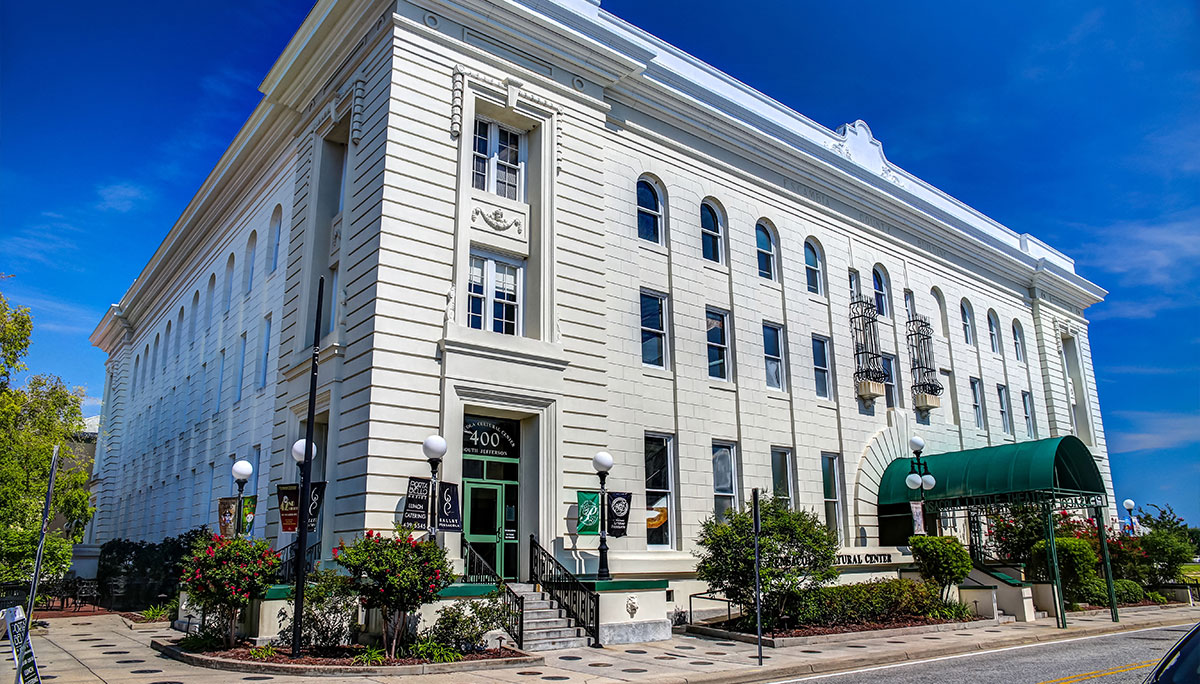 The Pensacola Little Theatre as a grant funded event for Foo Foo Fest 2021 promises to light up the night on their little block of Downtown Pensacola