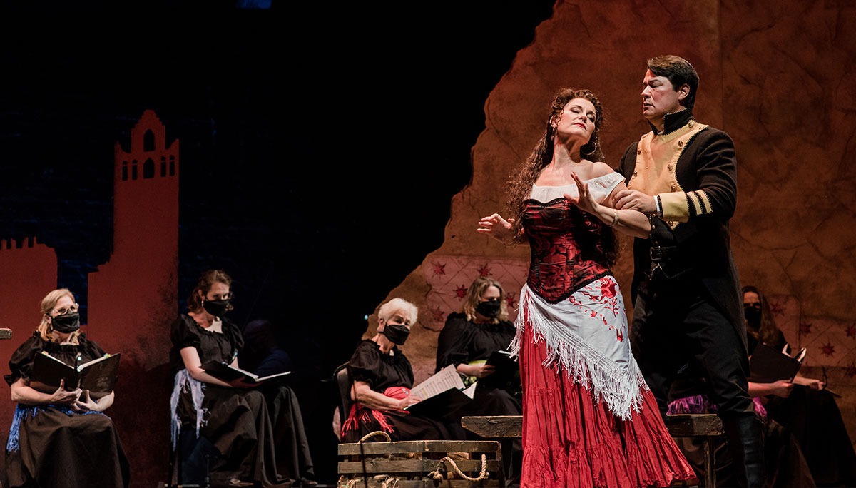 Pensacoal Opera events throughout the year
