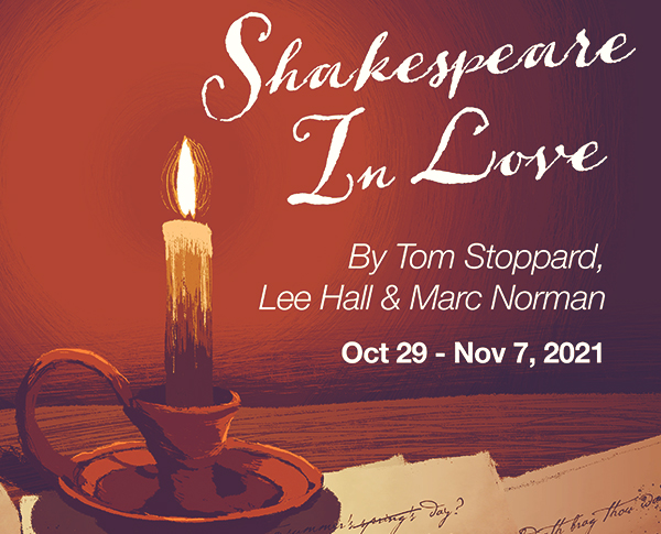 Shakespeare in love graphic